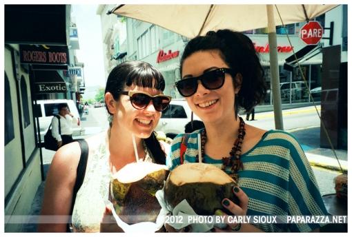 Carly, Kristina 2coconuts, Old San Juan, PR, Jun12