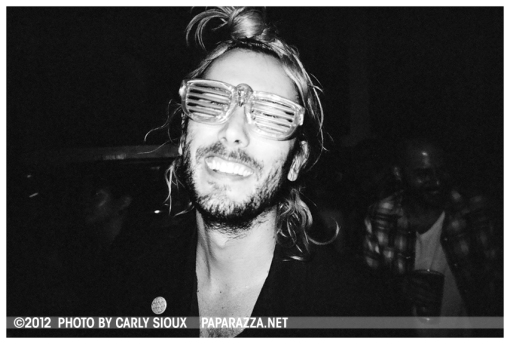 Guy in Flashy Glasses @ Shilpa Ray, Pianos June12