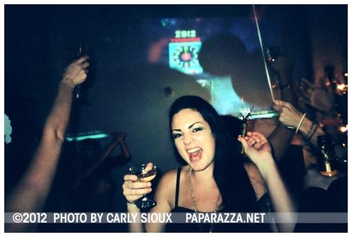Kristina, NYE 2012 @ Wisk & Ladle