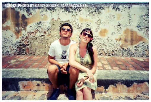 Kristina, Raffa 2 @ Castillo San Felipe del Morro, PR, Jun12