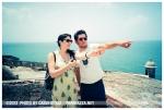 Kristina, Raffa @ Castillo San Felipe del Morro, PR, Jun12