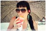 Kristina, Snow Cone @ Castillo San Felipe del Morro, PR, Jun12