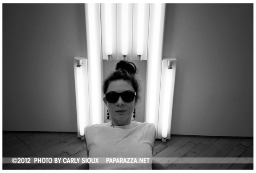 Carly 2, Dan Flavin, Dia Beacon, June12