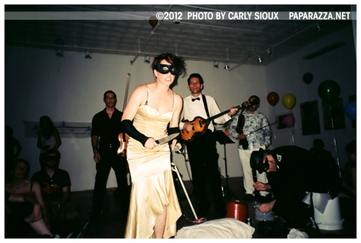 Amanda Palmer 2 & The Grand Theft Orchestra @ Momenta Gallery