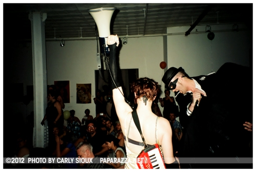 Amanda Palmer & The Grand Theft Orchestra @ Momenta Gallery