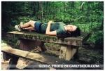 Kristina, Picnic Table @ Camp Privacy, Aug12