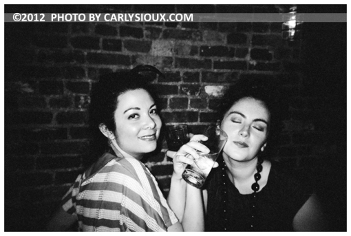 Carly, Katie @ VON, Aug12