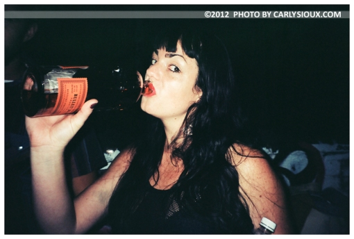 Kristina, Bite the Bulleit @ Hasko Twins Bday Bash Sept2012