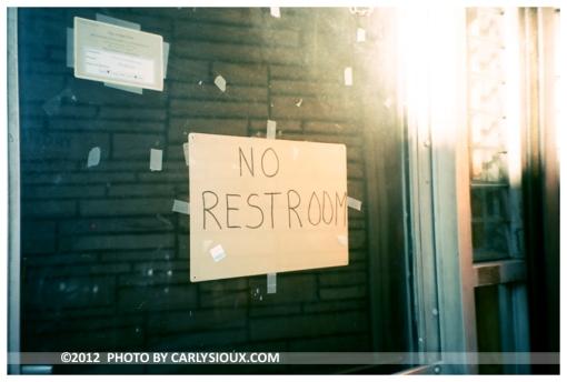 No Restroom, Bushwick, sept2012
