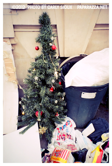 Oh Xmas Tree, Trash
