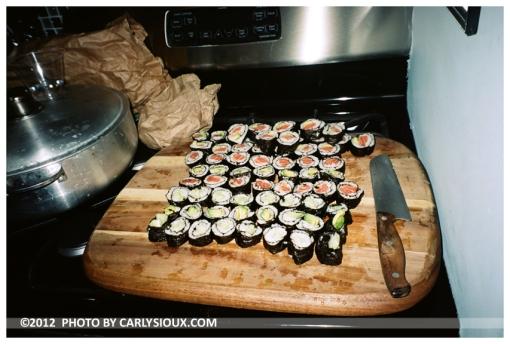 Olise 3, Sushi Rolls @ Irena's Pork Roast, Oct 12