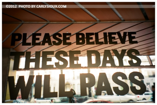 These Days Will Pass