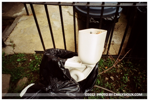 Trashed, Clinton Hill, Sept12
