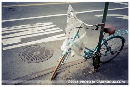 Blue Bike, LES, Jan13