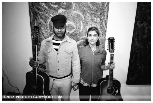 Daniel, Sarah,Guitars, Art Gallery, Oct12
