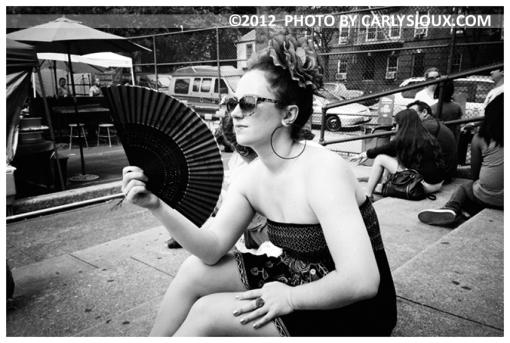 Katie, Brooklyn Flea, Aug12