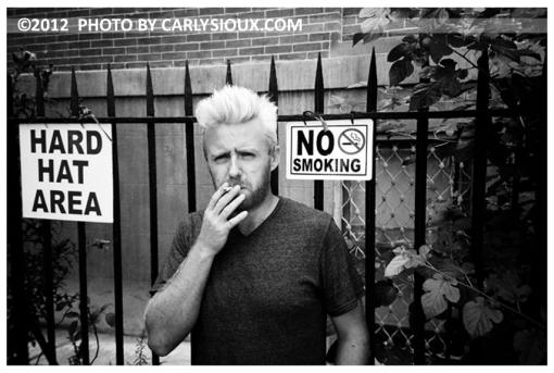 Stevie, Smoking, Clinton Hill, Aug12