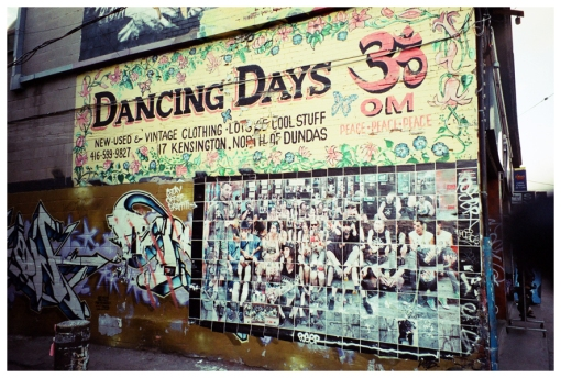 Dancing Days, Kensington Market, Toronto, Nov12
