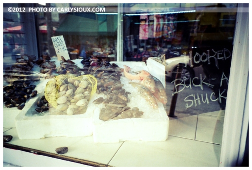 Fresh Fish, Kensington Market, Toronto, Nov12
