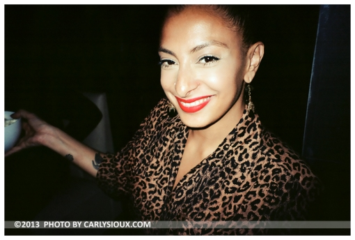 Irena, Leopard Print, Red Lips @ DesNuda, Mar13