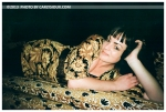 Kristina, Paisley Dress and Sofa @ The Paper Box,Mar13