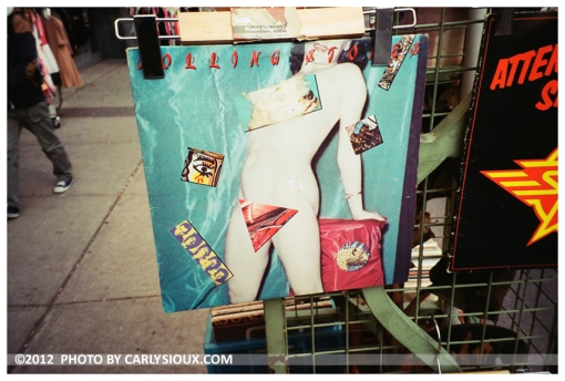 Under Cover, Rolling Stones, Kensington Market, Toronto, Nov12