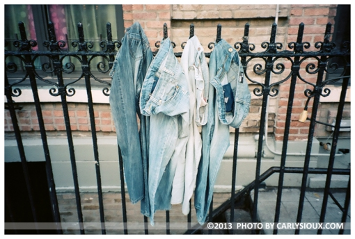 Denim, Fence, Hangouttodry, Clinton Hill, Mar13