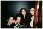 Girls, Phone Booth, Black, RedLips, @ BBQ FilmsApr13