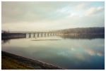 Lake, Clouds, Bridge, Hurley,Dec12