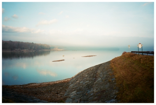 Lake, Curve in the Road, Dreamy, Hurly Dec12