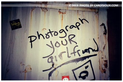 Photograph Your Girlfriend, Gawanas, Dec12