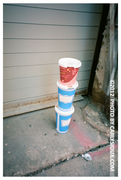 Polite Littering, Coffe, Chelsea Gallery, Oct12