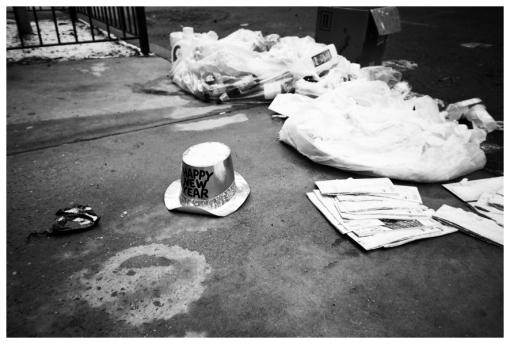 Happy New Year, Trash, Chelsea, Jan13