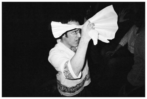 Strange Man, Folded Paper @ Gary Loft Party, Bedstuy Apr13