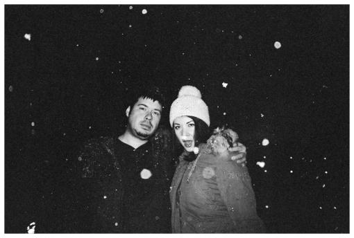 Brian, Carly, Snow, Golden Lamb, Dec12