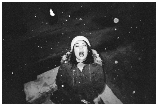 Carly Sioux, Snow, Open Mouth, Ohio, Dec12