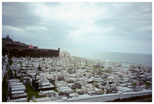 Cemetery, El Morro castle, Old San Juan, May13