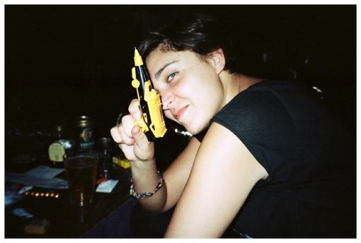 Elise, Monami, Pen, gun, bedstuy, May13
