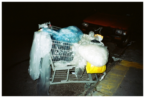 Ghost Cart, Plastic, Night, Bedstuy, may13