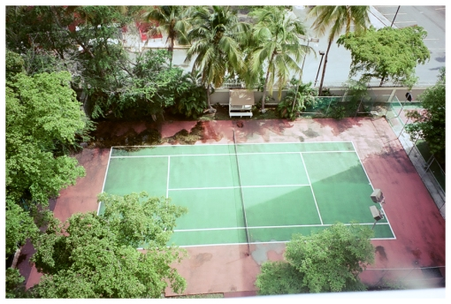 Jungle, Court, Isla Verde, May13