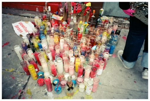Trouble, Fulton Street, Murder, Candles, Mar13