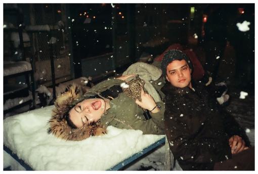 Carly, Choir Boy, Eat Snow, Hotbird, Blizzard, Feb13
