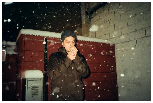 Choir Boy, Smoking, Hot Bird, Blizzard, Feb13