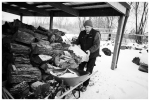 Dad 2, Farm, Lumberjack, Snow, Firewood, Dec12