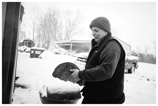 Dad 4, Farm, Lumberjack, Snow, Firewood, Dec12