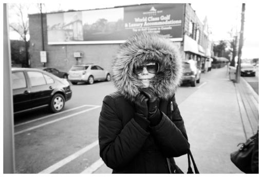 Jaime, Fur Hood, Toronto, Nov12