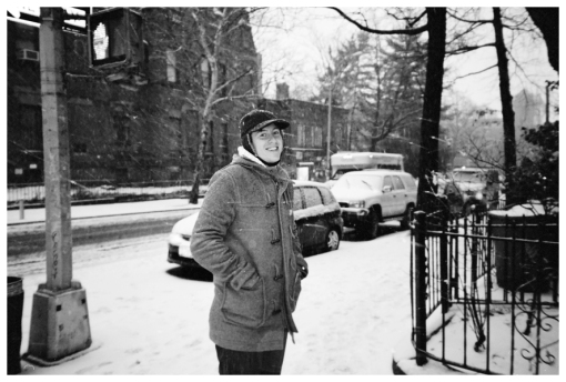 Kevin, Blizzard, Clinton Hill, Feb13