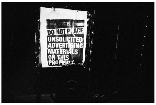 No Uncolicited Ads, Bedstuy, June13