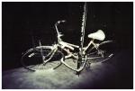 Snow, Abandoned Bike,Voyeur, Clinton hill,Mar13