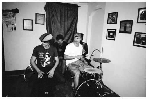 3 Drummers @ FlavYa BBQ, Bedstuy Jun13